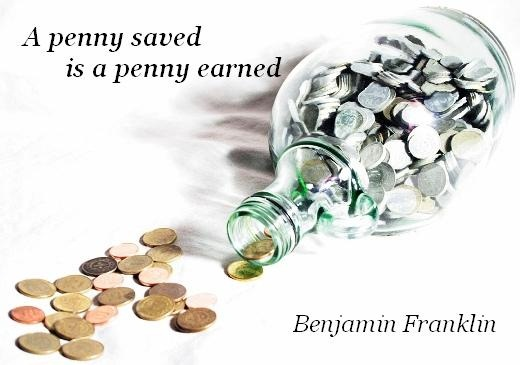 a penny saved is a penny earned A penny saved is a penny earned by charles fazzino os a multi-layered 3d serigraph.