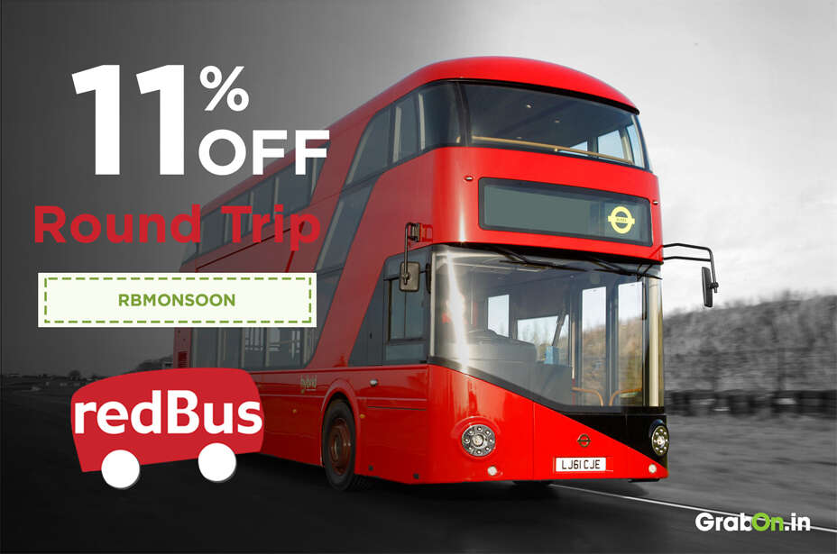 Redbus discount coupons