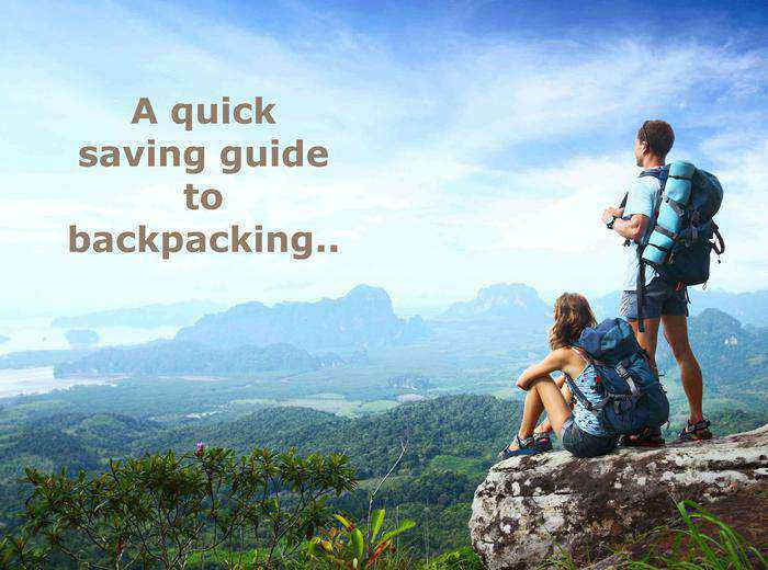 Saving Guide to Backpacking