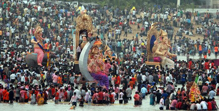 Lord Ganesha Immersion