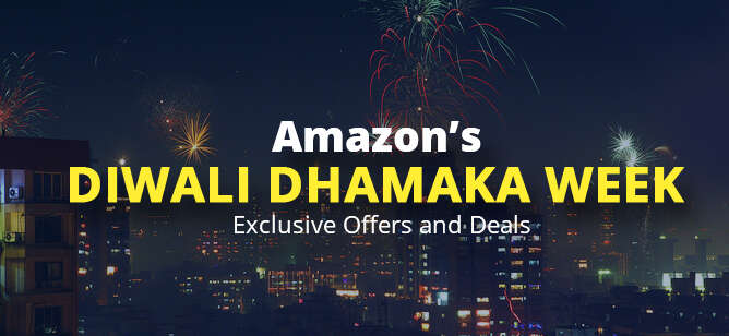 Amazon's Diwali Dhamaka Offers and Deals