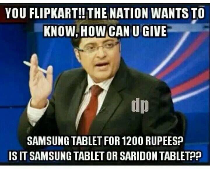 Samsung tablet or Saridon tablet