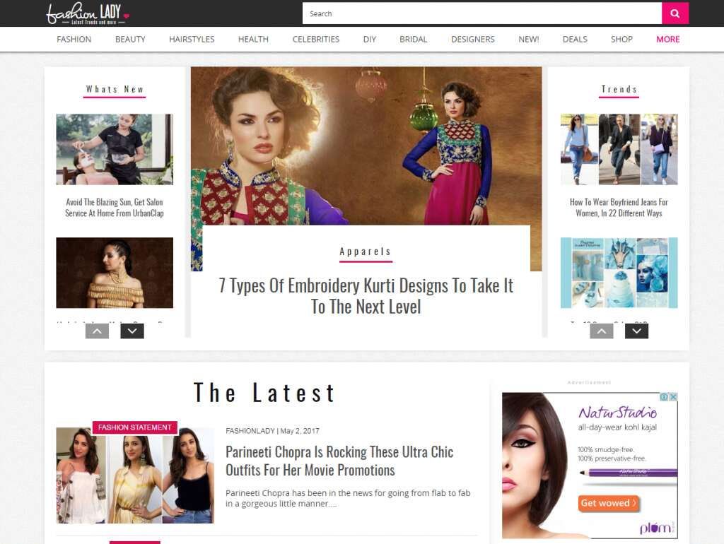 Top 5 Fashion Blogs in India FashionLady