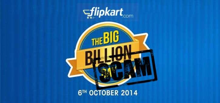 fraudkart flikart bigbillionday scam