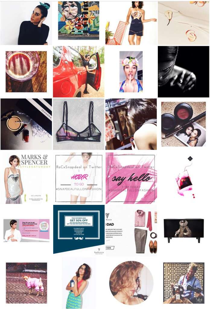 top 5 fashion bloggers in India Ruhi Sheikh