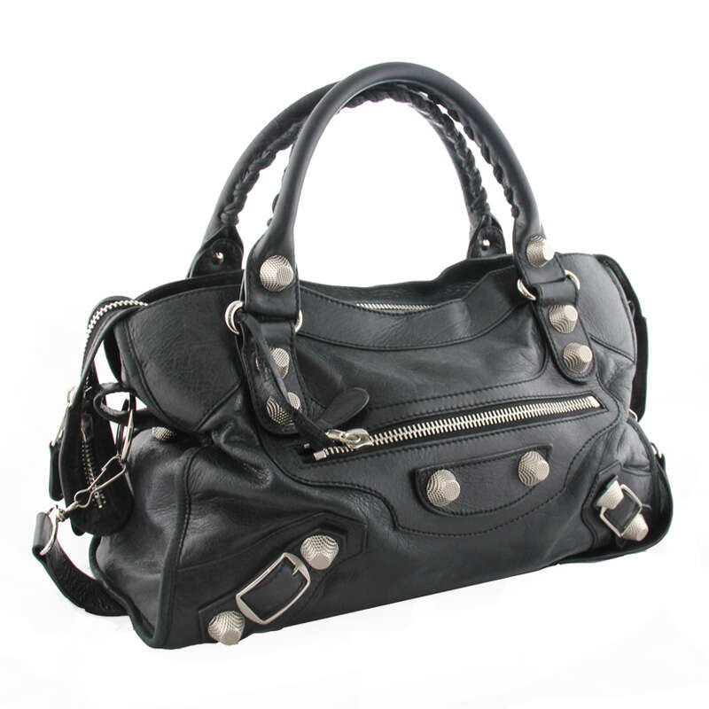 Balenciaga handbag signature or label identification