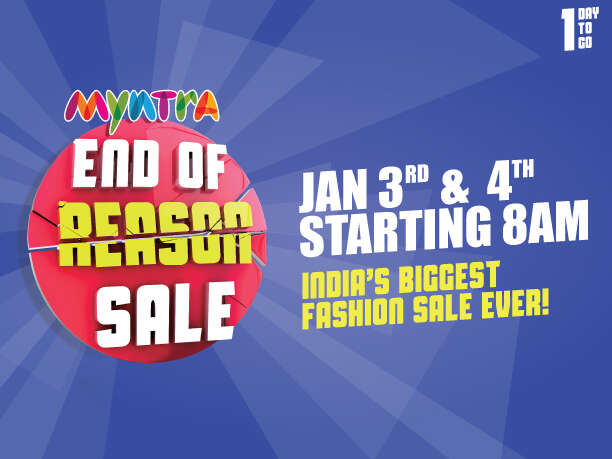 Myntra Reason Fashion Sale