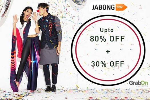 Jabong 2015 new year offers