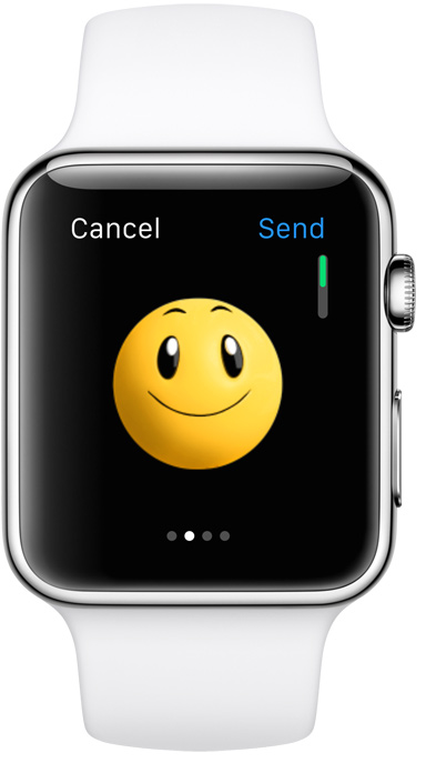 Apple watch retina display
