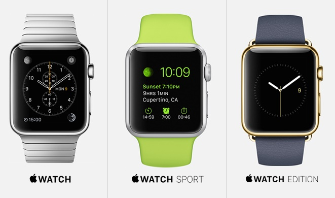 Apple watch different versions