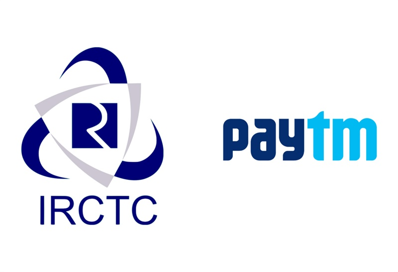Paytm Ties Up With IRCTC