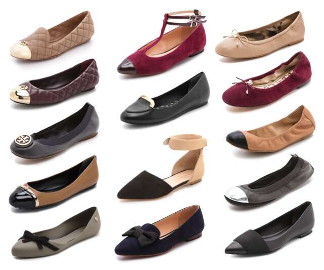 flats fashion shoes