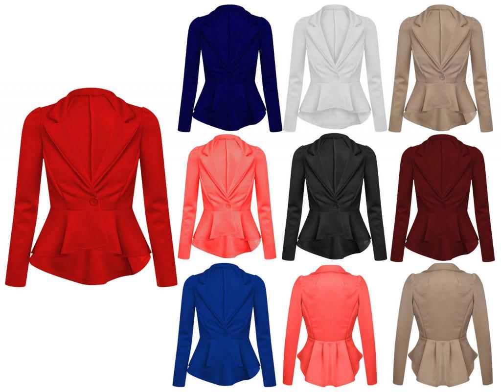 peplum jackets