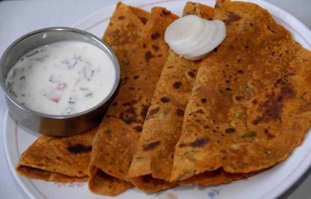 oats-chapathi