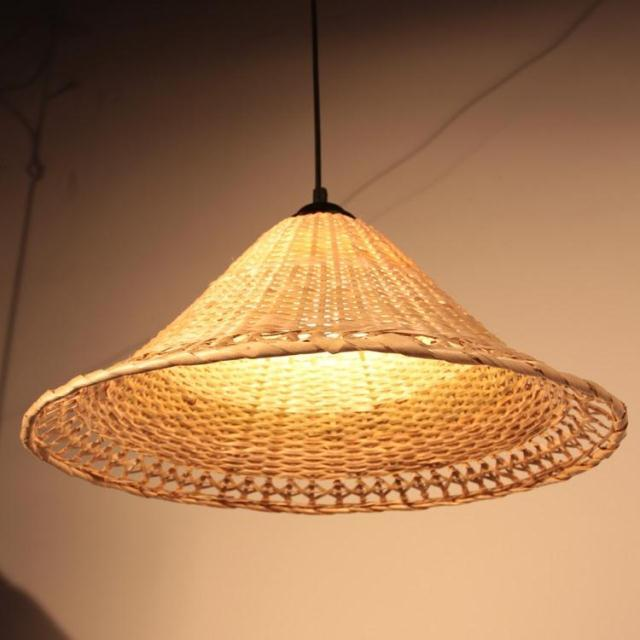 Welcome-wholesale-unique-rattan-furniture-handmade-knitted-rattan-lighting-Rattan-Shade-bedroom-pendant-light-free-shipping