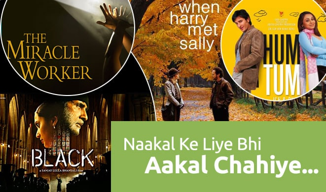 Bollywood Movies Taking Inspiration From Hollywood