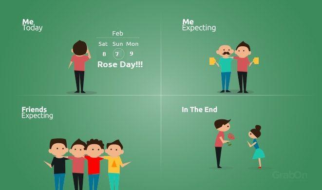 Rose Day, Funny meme
