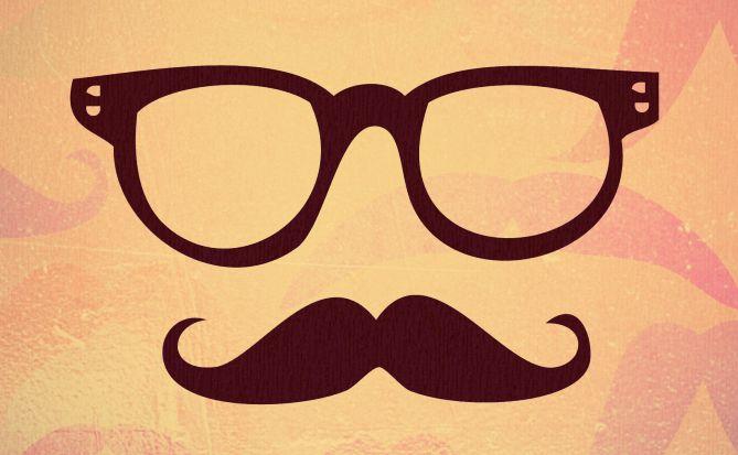 men's fashion moustache