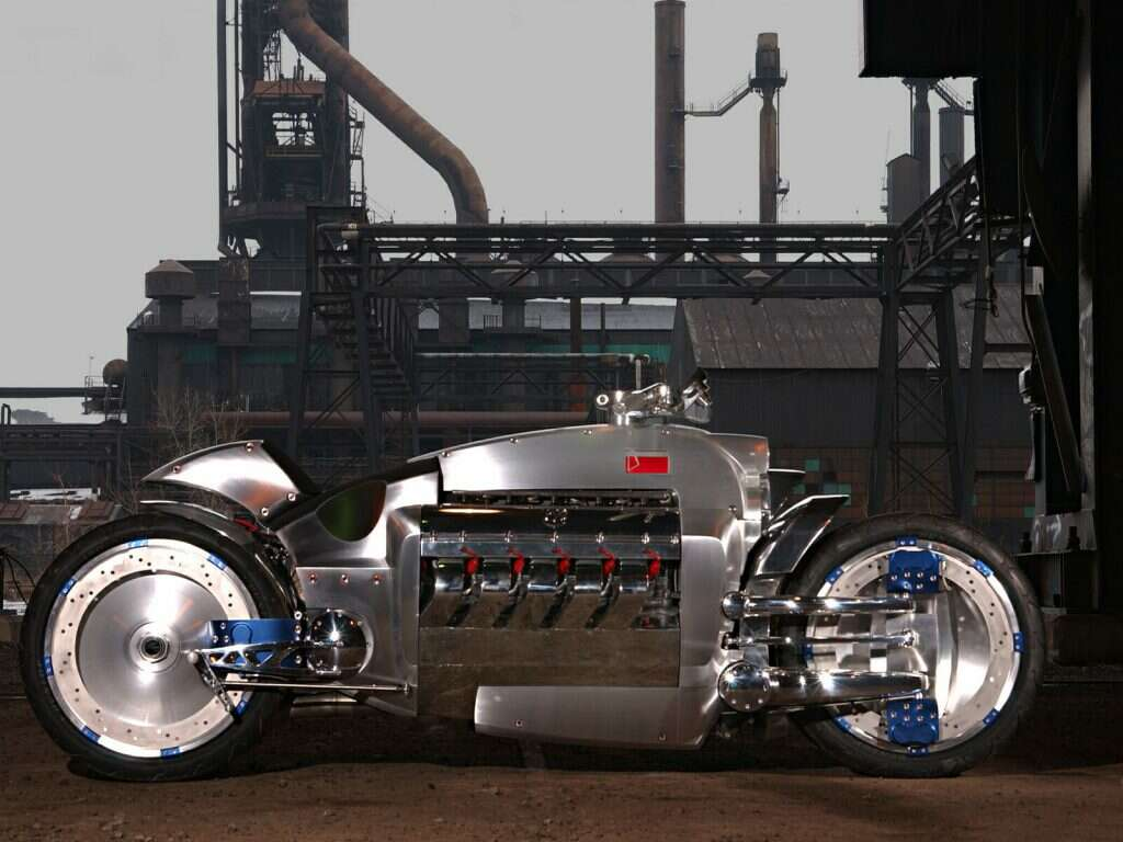 most expensive motorcycles dodge tomahawk