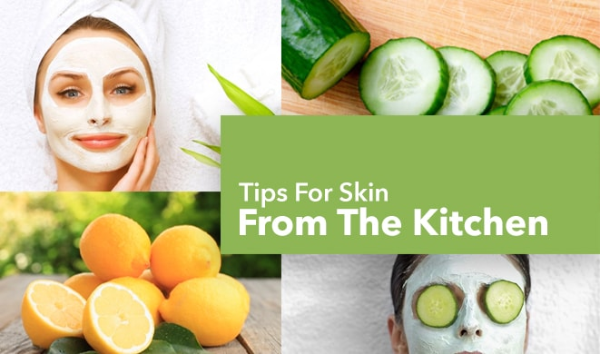 Top 10 beauty tips for skin from the kitchen