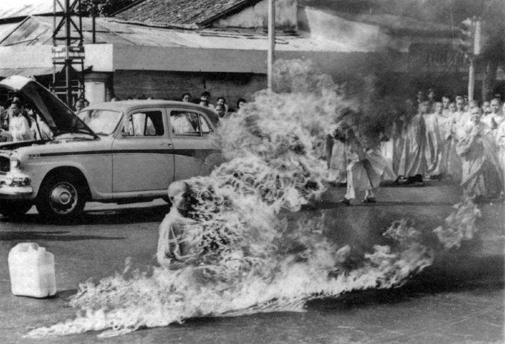 Thich Quang Duc Self-immolation photographs that shook the world