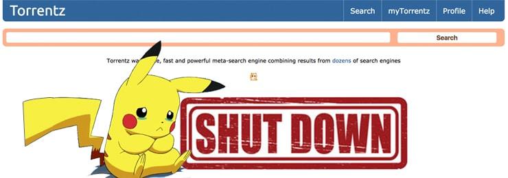 torrentz shutdown