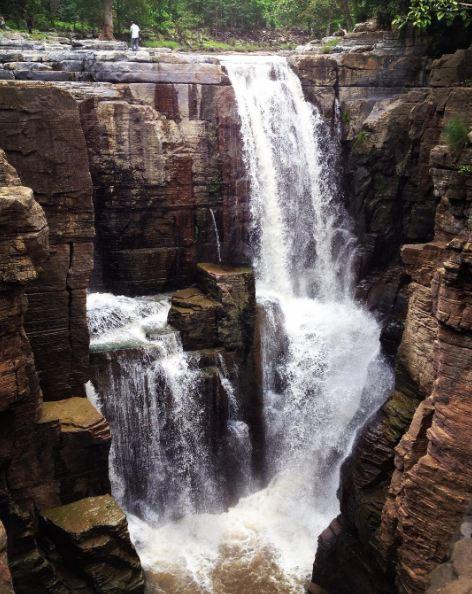Sapthagudem Waterfalls Adilabad_