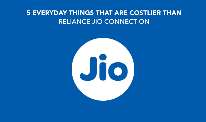Reliance Jio: 5 Things That Are Costlier Than Tariff Plans