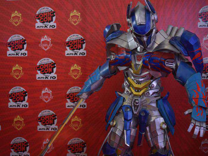 optiumus-prime-hyderabad-comic-con