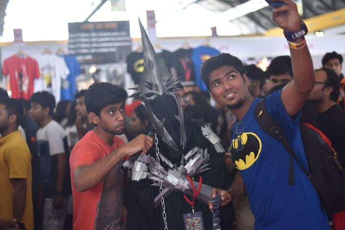 witch-king-of-angmar-hyderabad-comic-con