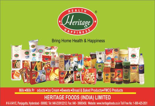 Heritage Grocery Shopping Online India