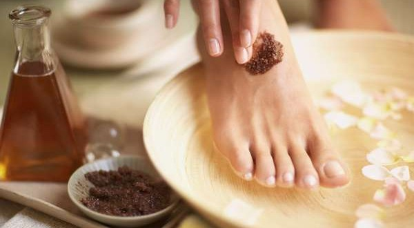 homemade-foot-scrub