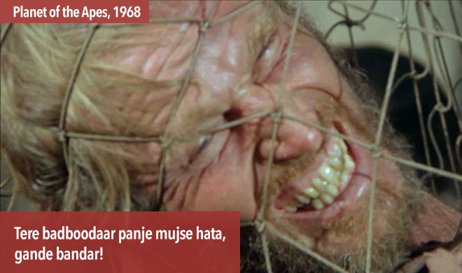 famous dialogues hollywood planet of the apes