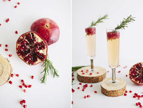 refreshing-drinks-for-Christmas-Pomegranate-Rosemary-Spritzer