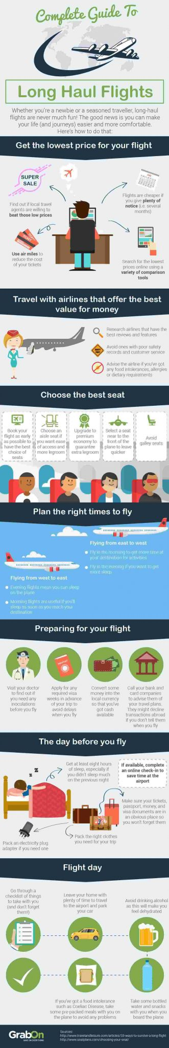 complete guide to long haul flights