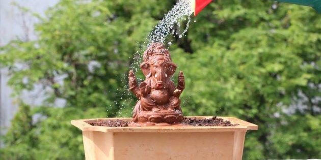 lord ganesha statues ecofriendly ganesha