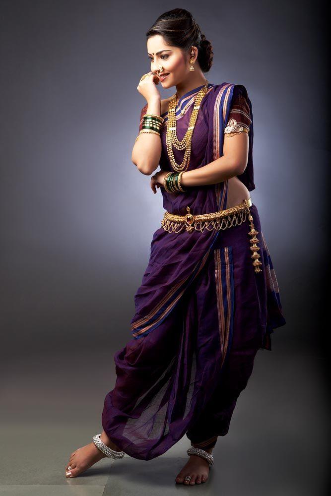 saree-styling-tips-maharashtrian-style