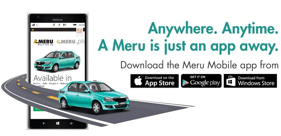 best cab services in mumbai and pune meru cab services