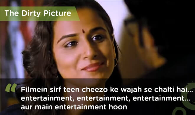 famous bollywood dialogues dirty picture