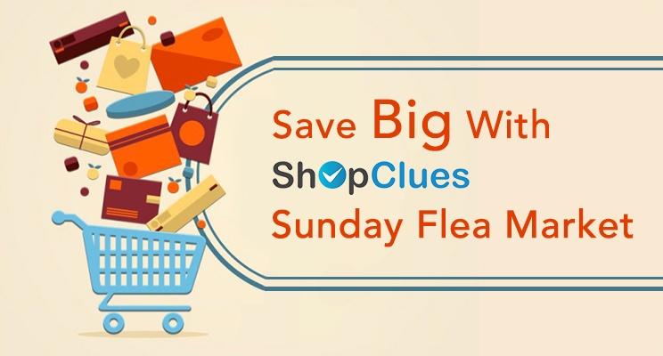 Shopclues Sunday Flea Market - Why is it so popular online?