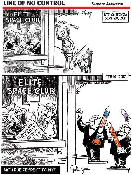 isro satellite launch indias reply