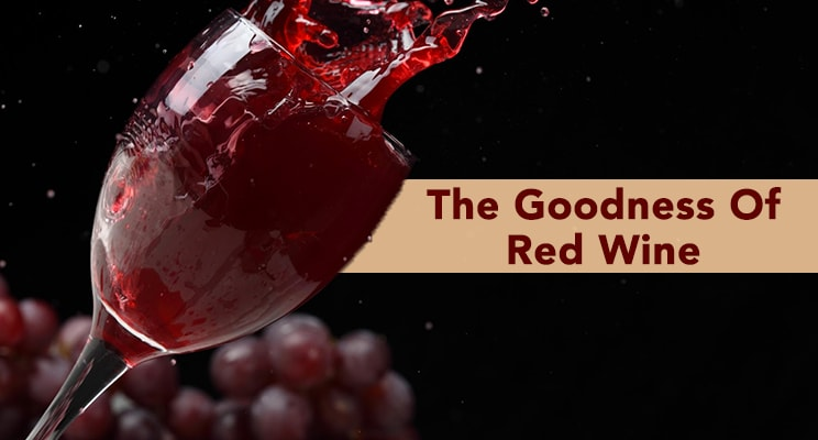 benefits of red wine for skin