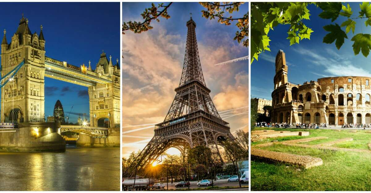3 Week Itinerary London Paris Italy