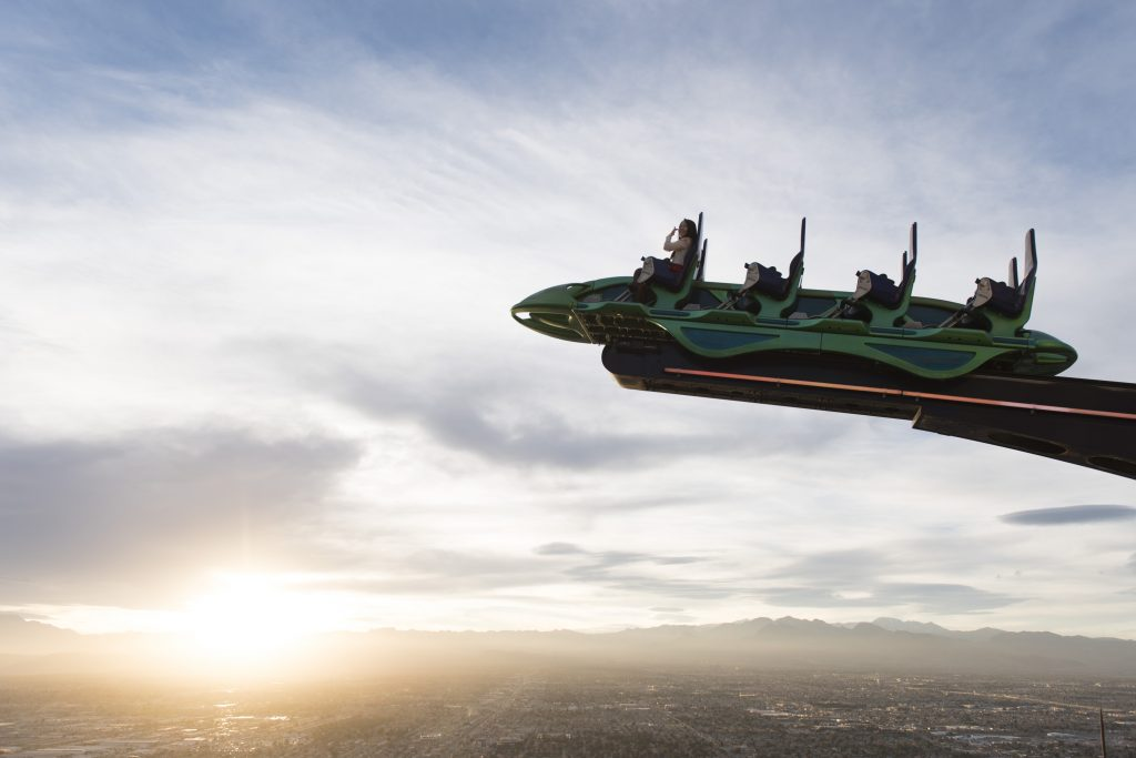 Stratosphere Hotel X Scream most insane photos