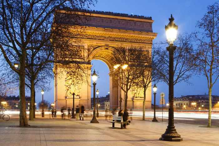 Arc de Triomphe 3 week itinerary london paris italy