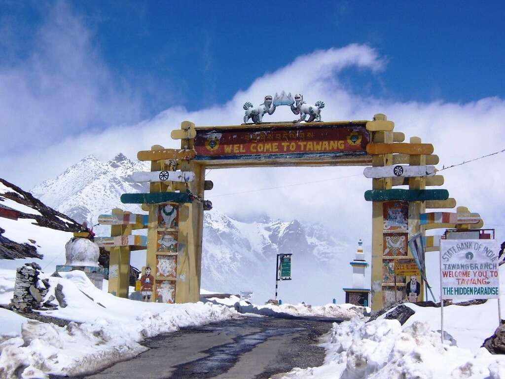 Guwahati Tawang road trips in india