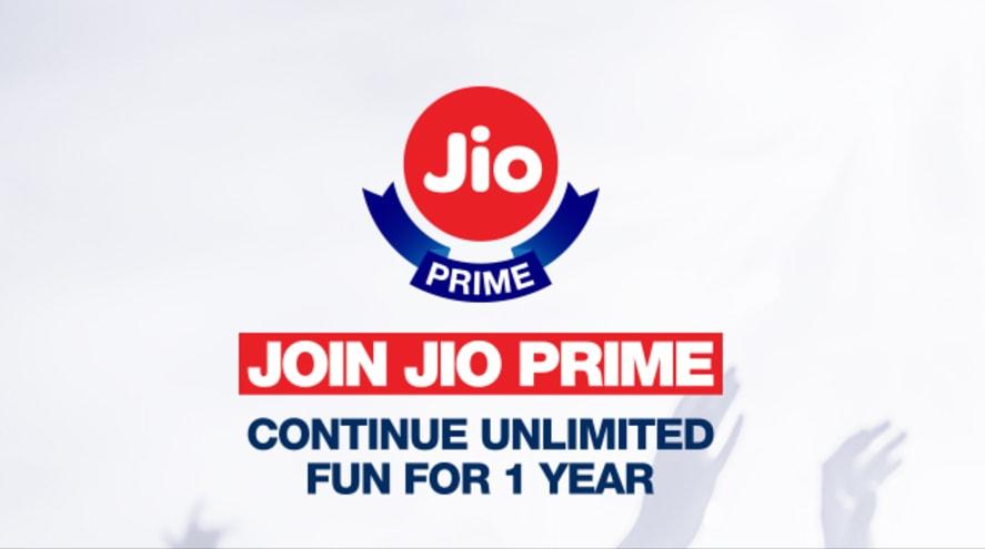 Jio Prime Membership JIO recharge