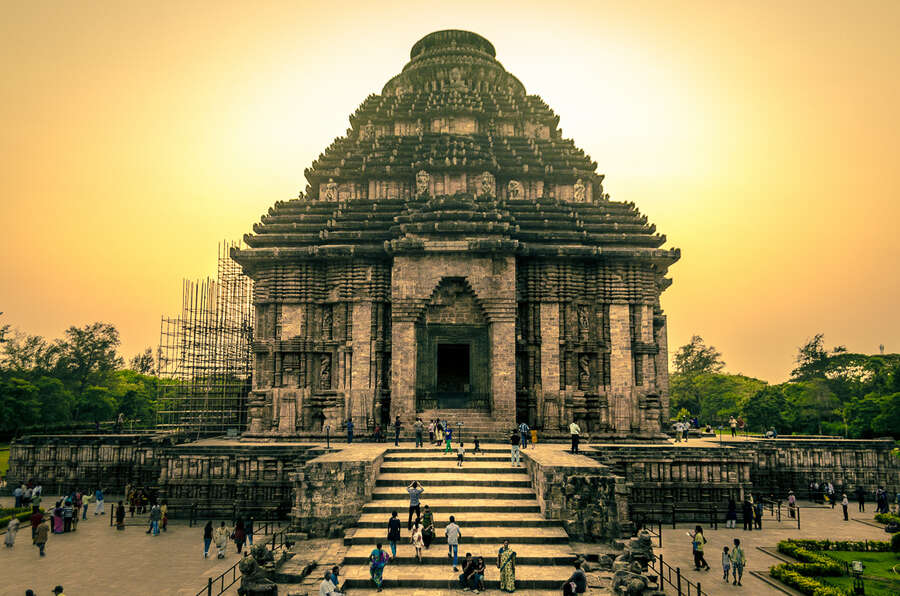 Konark road trips in india