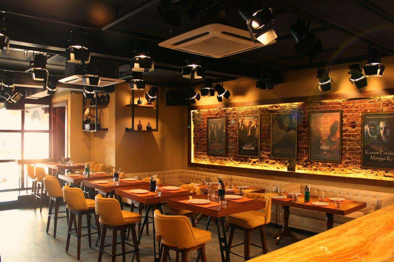 Lights Camera Action food theme restaurants in delhi
