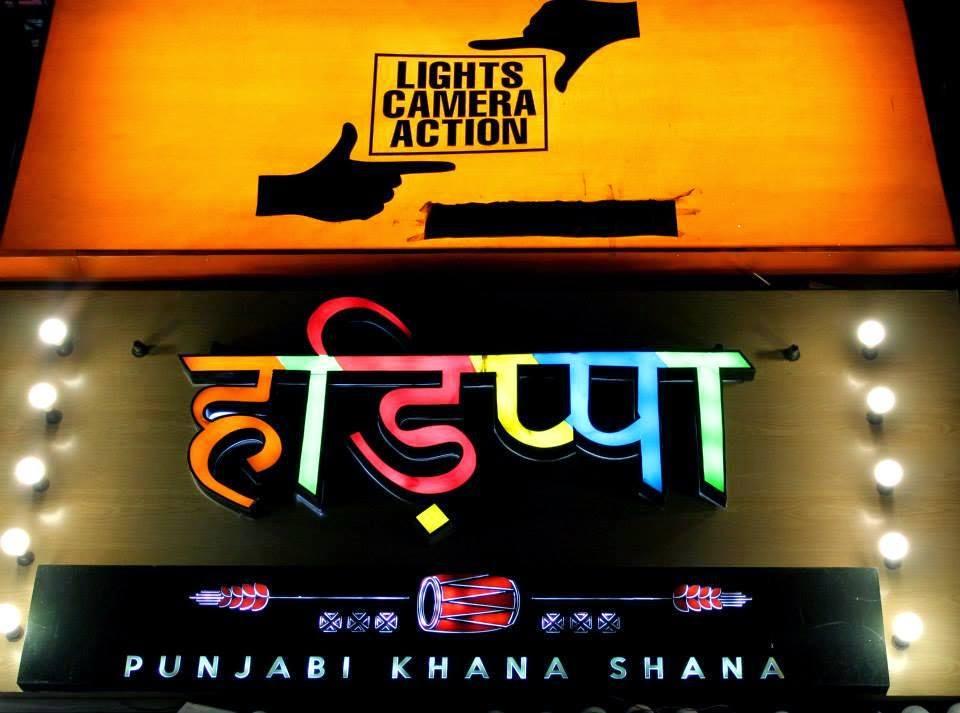 Lights Camera Action theme restaurants delhi